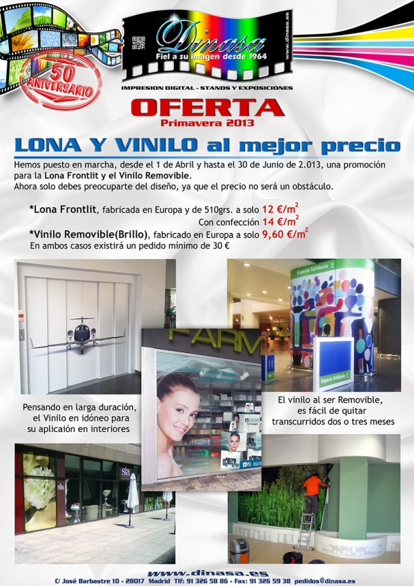 LONAS y VINILOS-Dinasa OFERTA Primavera 13-1