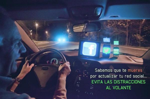 Evita las distracciones al volante FÉLIX C.P.